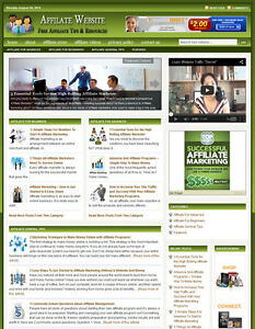 AFFILIATE MARKETING GUIDE WEBSITE BUSINESS FOR SALE - Free Installation Provided