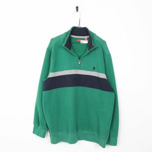 Image 1 - IZOD Small Logo Sweatshirt Green | XL | Grade B