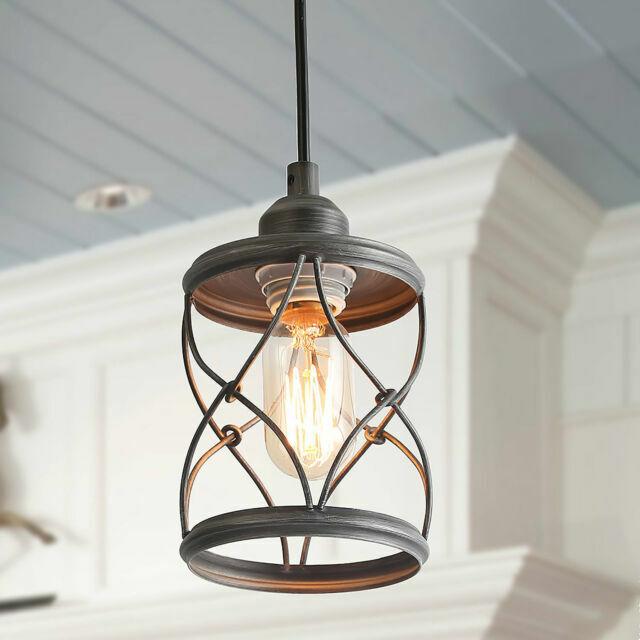 industrial mini pendant lighting farmhouse kitchen island lights silver a03475