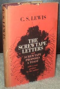 C S LEWIS  THE SCREWTAPE LETTERS   SCREWTAPE PROPOSES A TOAST  DJ     Image is loading C S LEWIS THE SCREWTAPE LETTERS amp SCREWTAPE PROPOSES