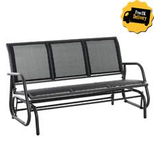 hampton bay 3 person futon patio swing