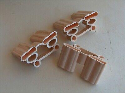 lot 3 embout amortisseur de lattes doubles 38mm x 8mm sur tenons pour som ebay