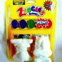 CRAYOLA~ZOOGLES Buddies 2🐙 PAINT KIT 2-5/8″ Sci-Fi creatures w/collectible card