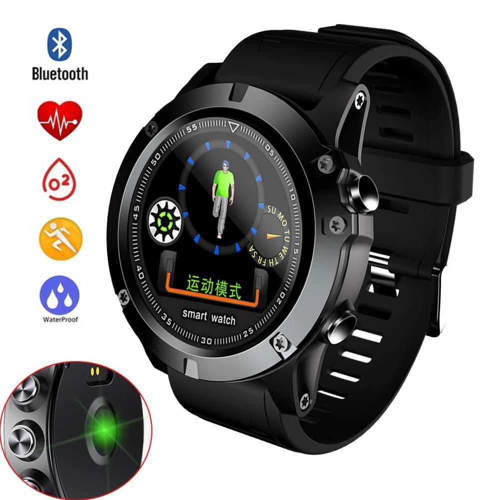 Sport Bluetooth Smart Watch Heart Rate Monitor Phone Mate Wrist Bracelet for Men