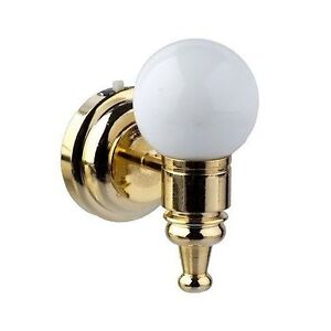 Miniature Battery Operated White Globe LED Wall Sconce 1 ... on Battery Powered Wall Sconces id=17436