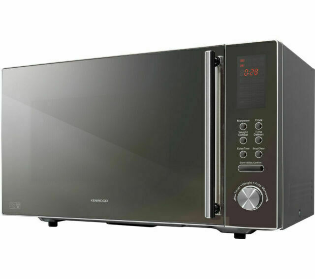 kenwood k25mms14 900w 25l microwave oven silver