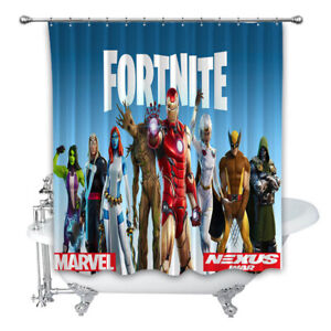 details about new best fortnite custom shower curtain 100 polyester