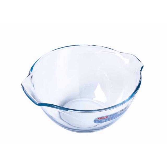 pyrex glass 2 5 litre mixing bowl ovenproof microwave dishwasher safe uk