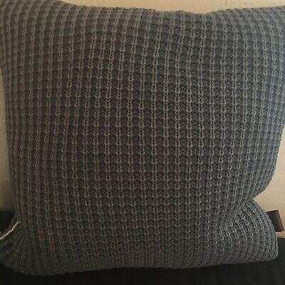 ugg pillow 20 x 20 blue color with cover ebay
