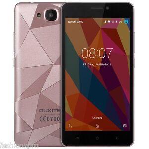Oukitel C3 5.0 Android 6.0 3G Smartphone MTK6580 Quad Core 1GB 8GB Dual Cameras