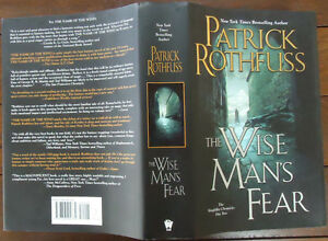 The Wise Man s Fear by Patrick Rothfuss   Kingkiller Chronicle  Day     Image is loading The Wise Man 039 s Fear by Patrick