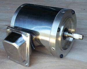 Gator Stainless Steel AC Motor, 3/4 HP, 3600RPM, 56C Frame ...