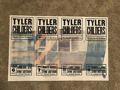 tyler childers hatch show print poster set 4 ryman auditorium nashville ebay