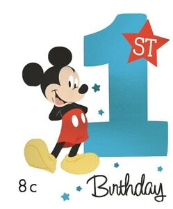 details about mickey mouse 1st birthday invitations 8 birthday party supplies decoration