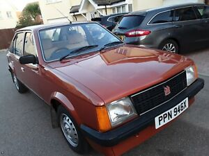 1981 Vauxhall Astra 1300S L HB 52,000 mile 1 owner, outstanding classic car