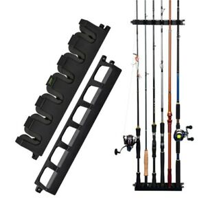 details about booms fishing vertical 6 rod rack fishing pole holder rod holders