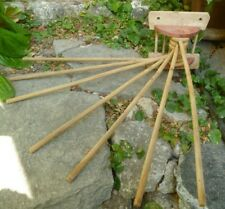 old fashioned wooden drying rack
