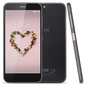 NEW ✔ ZTE BLADE A512 - 4G LTE | BLACK | Unlocked | L@@K