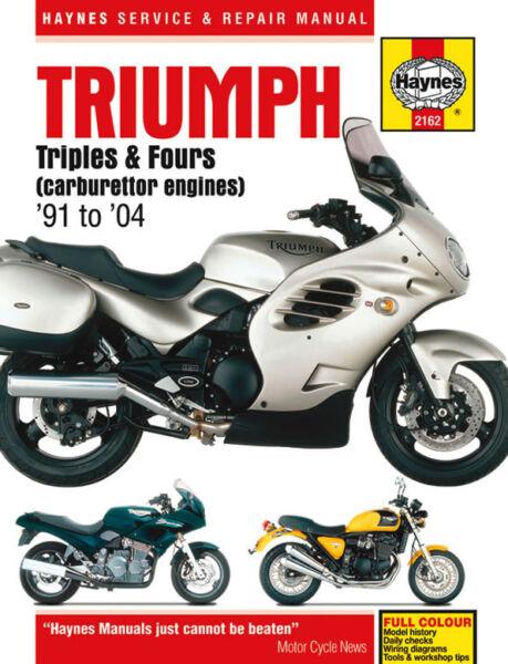 1998 Triumph Thunderbird Service Manual