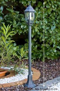 details sur lampadaire exterieur luminaire lampe sur pied lampe de jardin en aluminium 29709