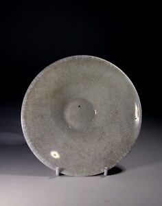 Antique Chinese Ge Ware Conical Glazed Bowl Song Dynasty