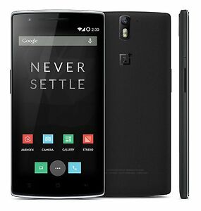New OnePlus 1 One A0001 4G LTE GSM Android 5.5 Inch 3GB-RAM 64GB-ROM Black