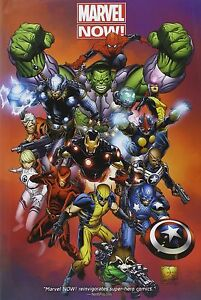 Marvel Now! Omnibus [Hardcover Comic Book, English, 808 Pages] NEW