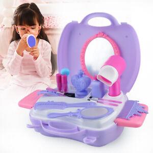 details about toddler vanity set pretend play makeup girls portable toys make up princess