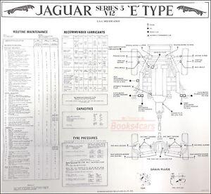 JAGUAR WIRING MAINTENANCE XKE E TYPE ELECTRICAL V12 S3 19711975 | eBay