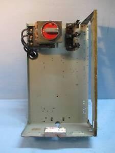 """General Electric GE 7700 Series 100 Amp 24"""" Fused Feeder ..."""