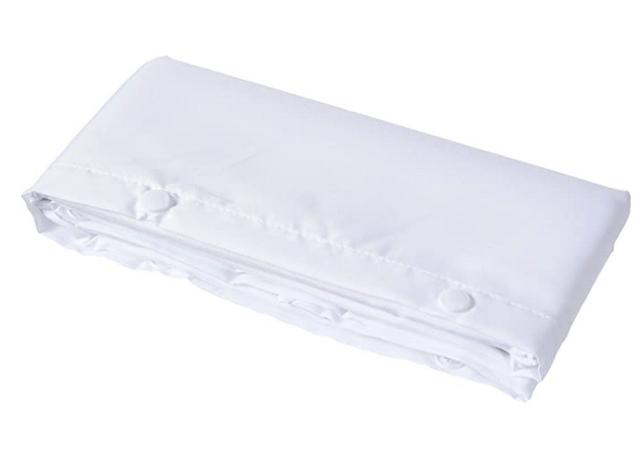 hookless rbh40bbs01 shower curtain liner white