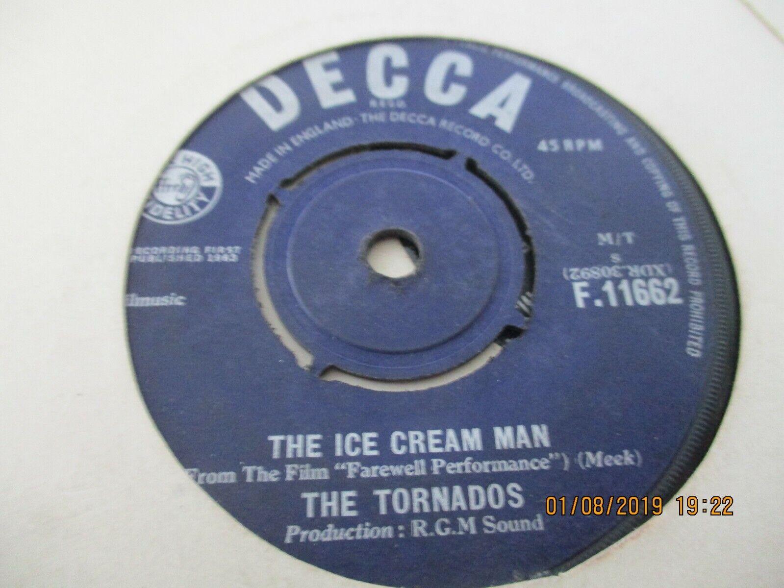 THE TORNADOS/THE ICE CREAM MAN