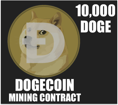 10,000 DOGE! Dogecoin Mining Contract - Cryptocurrency ...