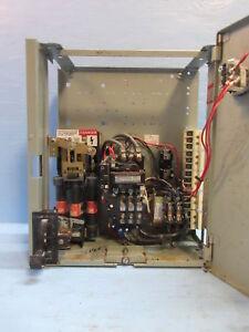 General Electric GE 8000 Series 600V Size 2 Starter 60 Amp ...