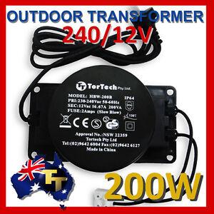 200w 12v outdoor garden low voltage