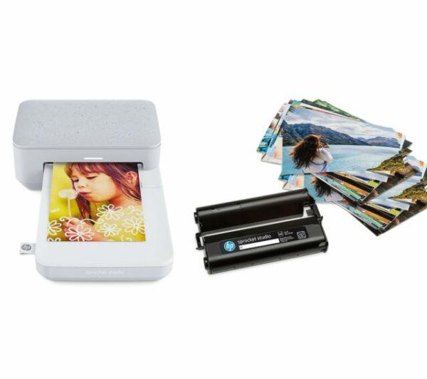 HP Sprocket Studio Digital Photo Printer - Snow for sale ...
