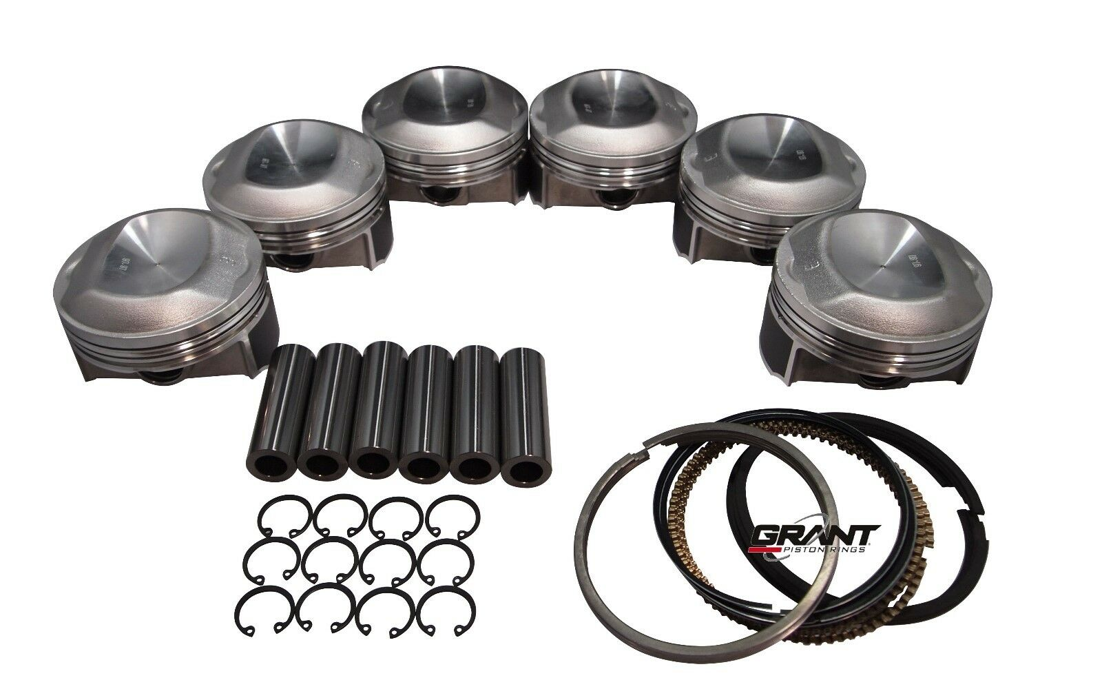 Qsc Porsche 911 95mm Pistons Set Cr 9 5 With Grant Piston
