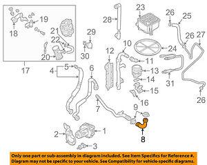 VW VOLKSWAGEN OEM 0105 Passat 18LL4 EmissionElbow 058133785B | eBay