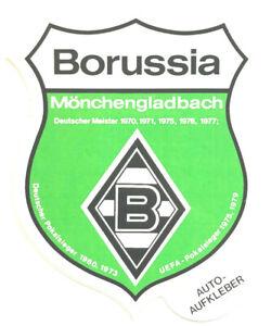 borussia m gladbach aufkleber sticker