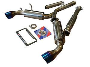 details about fits scion frs subaru brz toyota gt86 top speed pro 1 titanium exhaust system