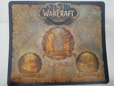 https www ebay fr itm world of warcraft 15th year anniversary map azeroth mousepad collectors edition 264494169245