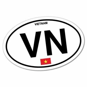 VN Vietnam Country Code Sticker | eBay