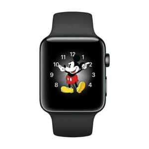 Apple Watch Series 2 - 42mm - Black Aluminum Case / Sport Band - Smartwatch
