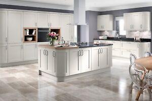 Oxford Matt Light Grey Complete Shaker Kitchen Units Cabinets Cupboards Ebay