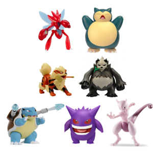 Pokemon Action Figures 4 5 Battle Feature Figure With Deluxe Actions Brand New Ebay