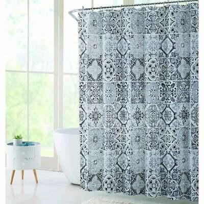 trinity gray peva shower curtain ebay