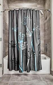 La tenda da doccia contiene 1x tenda per doccia, 12 x anelli per tende da. Interdesign Thistle Tenda Da Doccia Tenda Per Vasca Da Bagno Morbida E U5q Ebay