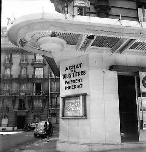 paris c 1950 bureau de change bd de