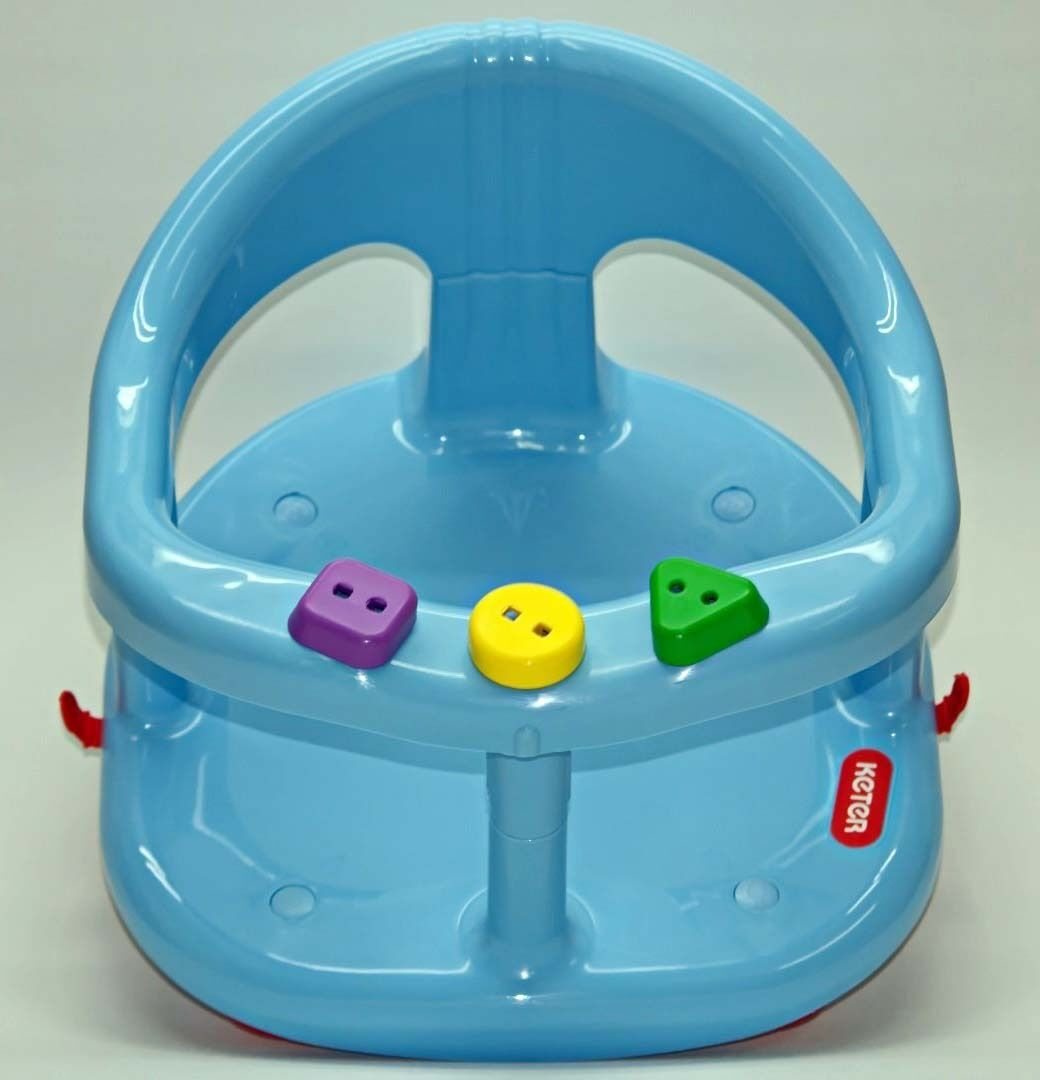 Infant Baby Bath Tub Ring Seat KETER BLUE FAST SHIPPING FROM USA New In BOX EBay