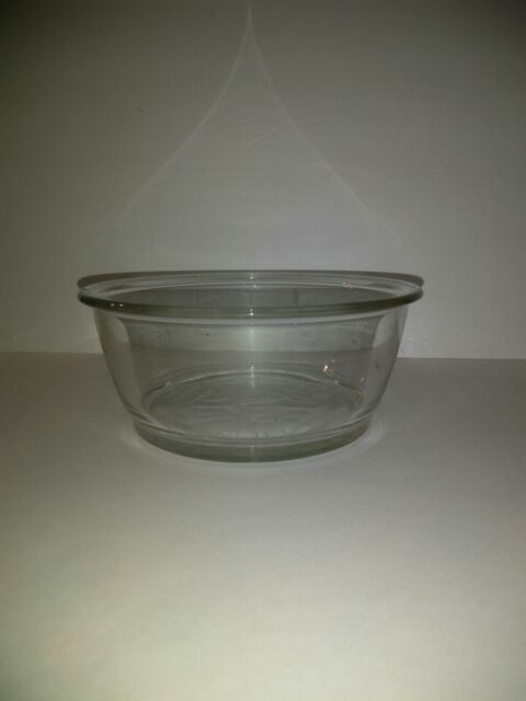 pyrex pro storage glass bowl 8201 vpg 5 cup oven microwave safe